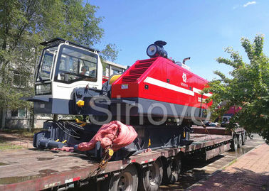 Chine 360° turning and telescopic and max 100T Lifting capacity Hydraulic Crawler Crane CQUY100I fournisseur