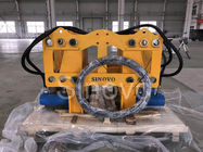 Le briseur hydraulique jaune AN210 de pile a coupé la pression maximum 280kN de la largeur 300-800mm Rod de mur