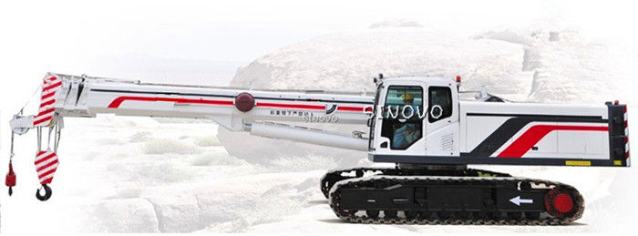 SQ500A high speed Hydraulic Crawler Crane for construction site , 50t Max rated load