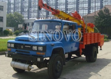 Mobile drilling rigs ST-600 Drilling Capacity 300M geological drilling rig